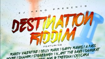 DESTINATION RIDDIM [PROMO] 2017
