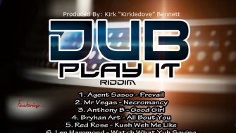 DUB PLAY IT RIDDIM [PROMO] 2017